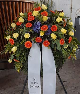 Trauerkranz Florist Siegen-Geisweid